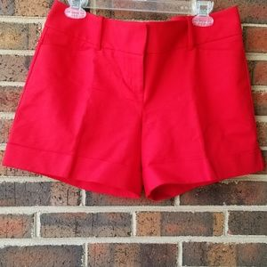 The Limited Red Shorts